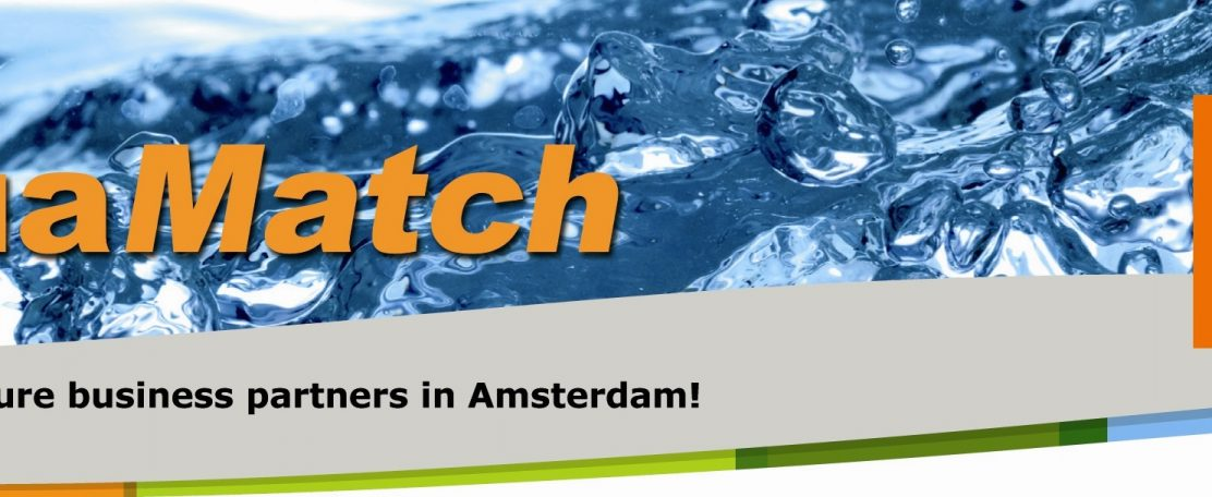 AquaMatch 5 november te Amsterdam