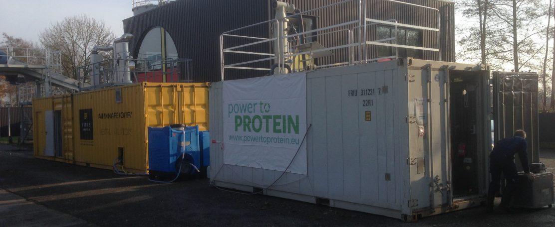 Power-to-Protein: pilot (fase 2)