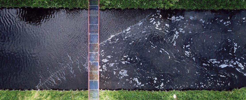 Voorkómen van uitstroom microplastics via effluent naar oppervlaktewater