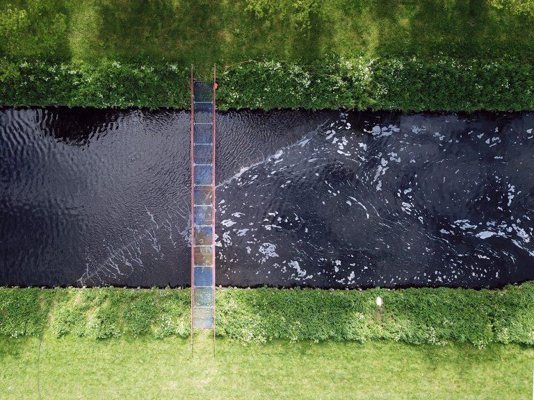 Consortium onderzoekt effect 'bellenscherm' op microplastics in gezuiverd afvalwater