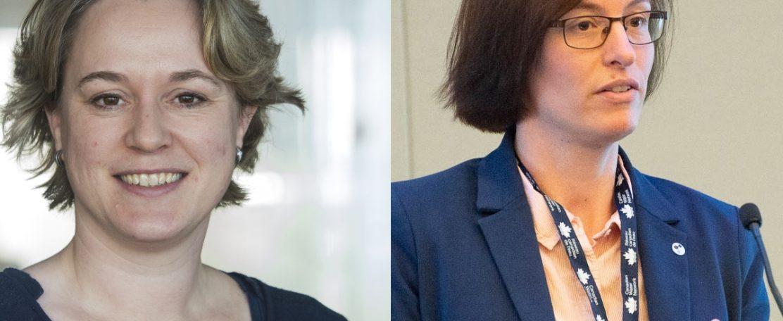 Jantienne van der Meij en Anne Mathilde Hummelen directeur TKI Watertechnologie