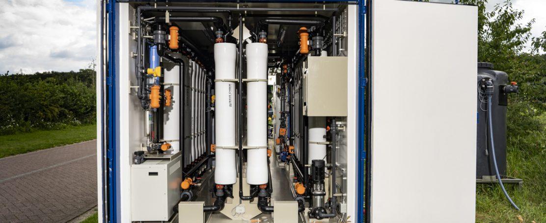 Pilot CoRe-technologie in Roermond verwerkt nu 2 kubieke meter afvalwater per uur