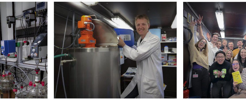 Biopolymeren winnen uit water